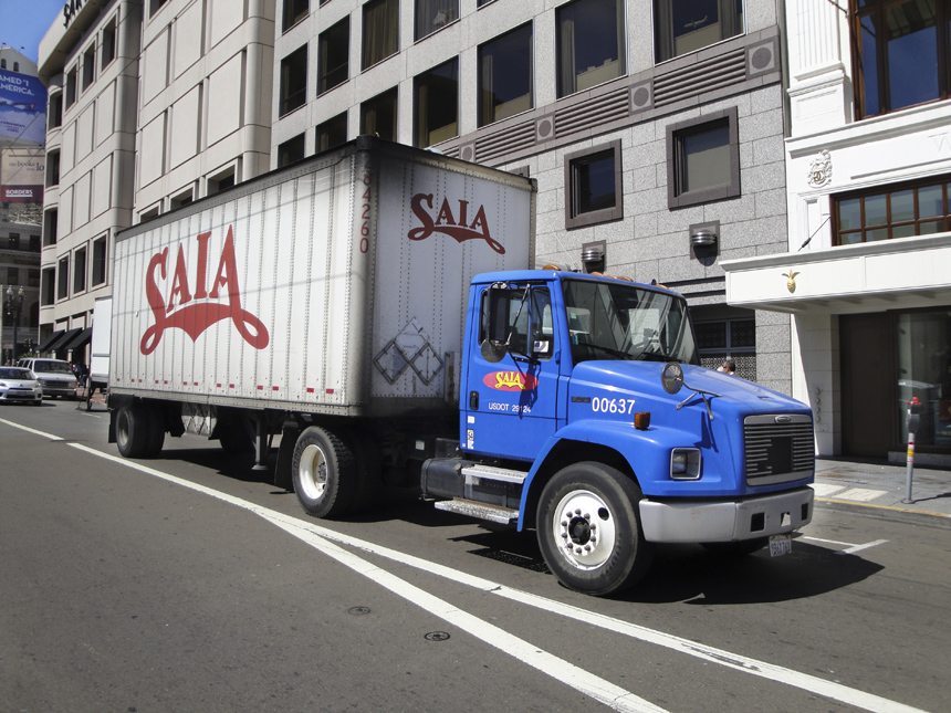 Saia Freight at Union Square